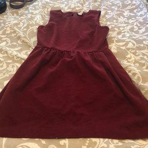 Jcrew weekend dress - maroon size small